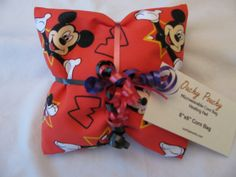 """""""Mickey Mouse"""" Ouchy Pouchy Microwavable Corn Bag Heating Pad"""