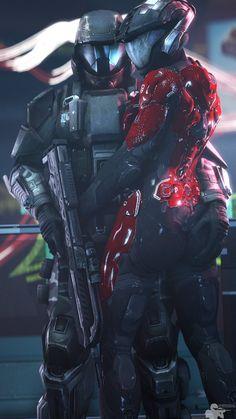 Halo Spartan Armor, Halo Armor, Dark Fantasy Art, Fantasy Girl, Halo Game, Halo 3, Odst Halo, Spiderman Black Cat, Zed League Of Legends