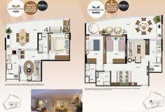 projeto apartamento 80 m2 - Pesquisa Google