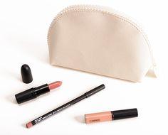 MAC Keepsakes/Nude Lip Bag