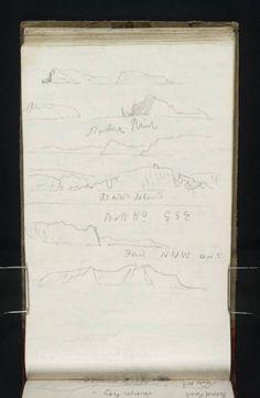 Joseph Mallord William Turner, 'Views of English Coast, from the Channel' Joseph Mallord William Turner, Muse Art, Devon, Missouri, Shake, Projects To Try, Coast, Channel, England