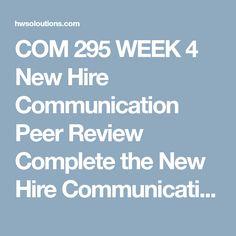 com 295 week 3 constructing effective business messages part i com 295 week 3 constructing effective business messages part i com 295 week 3 constr