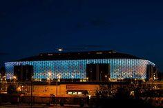 Friends Arena  C.F. Møller. Photo: Håkan Dahlström