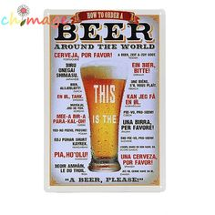 We love it and we know you also love it as well Beer around the world Tin Sign Bar pub home Wall Decoration Retro Metal Art Poster just only $4.79 with free shipping worldwide  #wallstickers Plese click on picture to see our special price for you