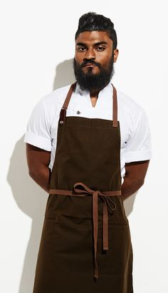 The original washable waxed cotton chef aprons. Lightweight waxed cotton keeps you cool and clean even when you're knee deep in the weeds and the new guy just spilled a whole pot of tomato sauce on yo