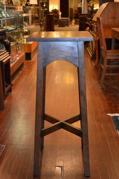Arts and Crafts Mission Oak Plant Stand