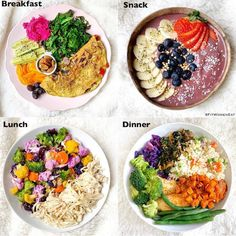 How many meals do you eat in a day ⠀ ⠀another – Artofit Healthy Meals For Kids, Healthy Eating Recipes, Healthy Meal Prep, Healthy Snacks, Eat The Rainbow, Breakfast Snacks, Daily Meals, Food Diary, Meal Planning