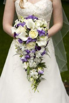 bruidsboeket modern wit - Google zoeken