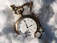 El tiempo recorrido entre la nieve