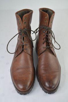 Prime Shoes Santo Gr 42 8 27 cm Leder Rahmengenäht Vibram Sole Lammfell Wie Neu Men Dress, Dress Shoes, Good Looking Men, Combat Boots, How To Look Better, Ebay, Fashion, Loafers, Men Shoes