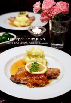ポークステーキ☆フレッシュトマト&オニオンソース by JUNA(神田智美)   レシピサイト「Nadia   ナディア」プロの料理を無料で検索