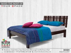 Make the most of your space - #BetterHome #Furniture #Ahmedabad  #HomeFurniture  #ComfortBed