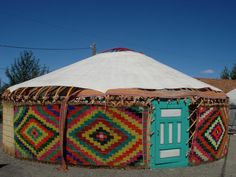 If I had to live in a yurt -- this might be the one ...