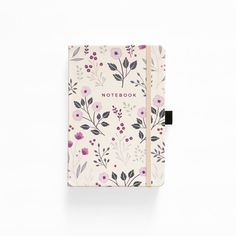Bullet Journal New Zealand and Australia - archer and olive dotted bullet journal notebook painted flowers no cover Notebook Cover Design, Notebook Covers, Journal Covers, Cute Journals, Cool Notebooks, Dot Grid Notebook, Journal Notebook, Diy Notebook, Cahier A5