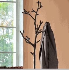 Lovebird Coat Rack - maybe without the birds