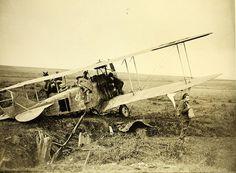 world war one aircraft   World War One Aircraft crash German in France
