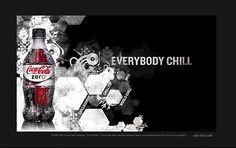 Coke Zero Chillosophy Website by Undoboy , via Behance