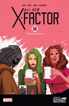 All-New X-Factor (2014-) #14 - Quicksilver is reunited with his daughter, Luna, But the Inhumans are not too happy about it! Plus, could Warlock make a move on Danger?