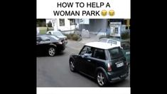 HOW TO HELP A WOMAN PARK PRANK  !!