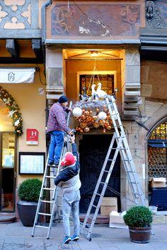 Vorbereitung Weihnachten 2016 Straßburg