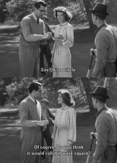 Bringing Up Baby   Katherine Hepburn & Cary Grant