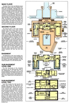 Eliot R. Brown: Avengers Compound Official Handbook of the Marvel Universe: Deluxe Edition Marvel Jokes, Marvel Avengers, Marvel Comics, Avengers Headquarters, Mansion Interior, Mediterranean Style, Avengers Infinity War, Guardians Of The Galaxy, Disney Parks