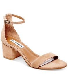 6bd0f917f26 STEVE MADDEN Steve Madden Women S Irenee Two-Piece Block-Heel Sandals.   stevemadden