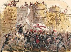 (D' Arc - p.mc.n.) Jeanne's 1428 the siege of Orleans marked the turning point in the war.