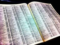 Remember looking for your name in the phone book?