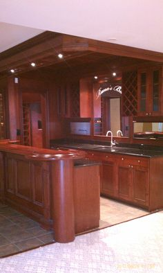 Basement Idea Photo Wooden Bar Ideas For Custom Wood Wet