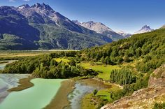 Colores del Rio Tranquilo - Patagonia Chilena