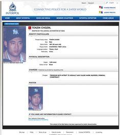 https://flic.kr/p/FzZh2J   Interpol Red Warrant for Shugden cult murders