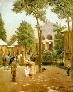 Esplanadin kappeli, Aukusti Uotila 1885. HKM Modernism, Helsinki, Finland, Blessings, Dreaming Of You, Blessed, Peace, Dreams, Painting
