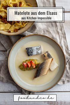 Kitchen Impossible im Elsass in Frankreich: Tim Mälzer kocht einen traditionellen Fischeintopf, die Matelote mit Nudeln und brauner Butter. #kitchenimpossible #kitchenimpossible2020 #timmälzer #kochen #elsass