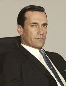 Frank Ockenfels' portrait of Mad Men's Don Draper