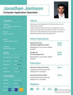 FREE Resume for Software Engineer Fresher Template - Word (DOC) | PSD | InDesign | Apple (MAC) Apple (MAC) Pages | Publisher | Illustrator | Template.net Adobe Indesign, Adobe Photoshop, Teacher Resume Template, Resume Design Template, Resume Template Free, Templates Free, Resume Format For Freshers, Resume Format Download, Microsoft Word