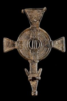 Africa | Sanke 'Debira' pendant | Gan peoples of Burkina Faso | Bronze | ca. 1950