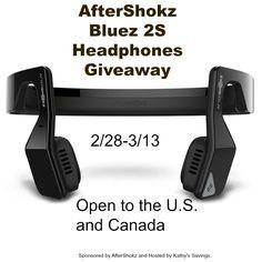 New Age Mama: AfterShokz Bluez 2S Headphones #Giveaway