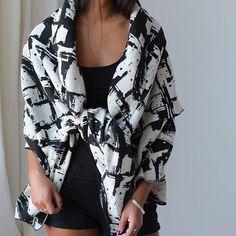 Our Maverick Black Shawl is now back in stock! // #HowToWear #SummerNights #KristaNorris  Kristanorris.com
