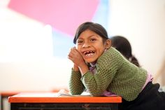 Seven year old Daisy smiles brightly at school 1 year after @OperationSmile repaired her cleft lip in Mexico.   Her story: http://ow.ly/9Gj9b