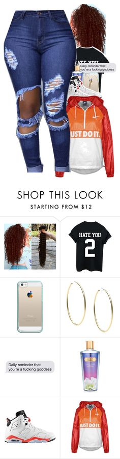 """."" by trillest-kid ❤ liked on Polyvore featuring Casetify, Michael Kors, Victoria's Secret, Retrò and NIKE"