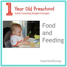 Food and Feeding - Tips and ideas for teaching table manners and feeding awareness.  Includes baby sign language.