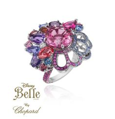 Chopard a collaboré avec le magasin Harrods de Londres, pour produire une Collection 'Princesses de Disney' en Haute Joaillerie - La Belle