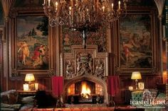 Luxury Castle Rental in the Heart of England - The Country Castle Company Victorian Castle, Victorian Homes, Gothic Castle, Interior Architecture, Interior And Exterior, Interior Design, Casa Steampunk, Beautiful Interiors, Beautiful Homes