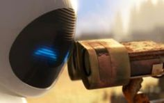 Wall-E and EVE in #Disney #Pixar's #WallE