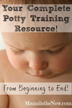 Your Complete Potty Training Resource. All your questions are answered, even some you never thought to ask. We take you from diapers to dry nights! Success for you and your toddler!