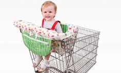 Groupon - Eric Carle Shopping Cart and High Chair Cover in Online Deal. Groupon deal price: $19.99