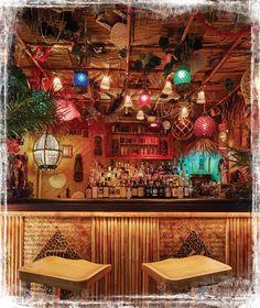 The Novato Grotto. Photo courtesy of Martin Cate. Washington Houses, Good Rum, Tiki Bar Decor, Tiki Lounge, Rustic Restaurant, Tiki Room, Garden Trellis, Cafe Interior, Patio Design