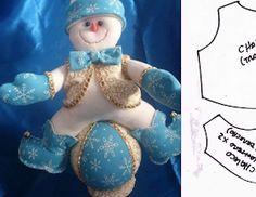 Aprende con Sara: Moldes para hacer muñeco de nieve sentado en una bolita Smurfs, Christmas Holidays, Cinderella, Disney Princess, Disney Characters, Ursula, Diana, Feltro, Christmas Quilting