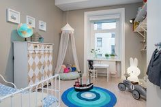 Barnrum - children's bedroom Photo from Alvhem Mäkleri och Interiör